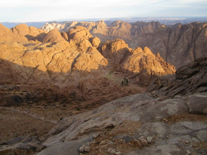 Where is the 'real' Mt Sinai?